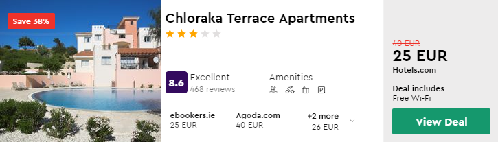 Chloraka Terrace Apartments