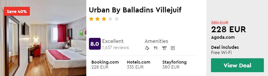 Urban By Balladins Villejuif