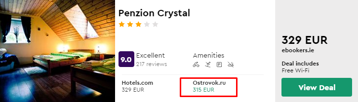 Penzion Crystal