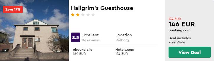 Hallgrím's Guesthouse