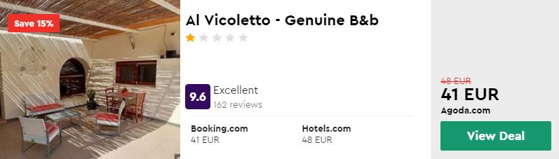 Al Vicoletto - Genuine B&b