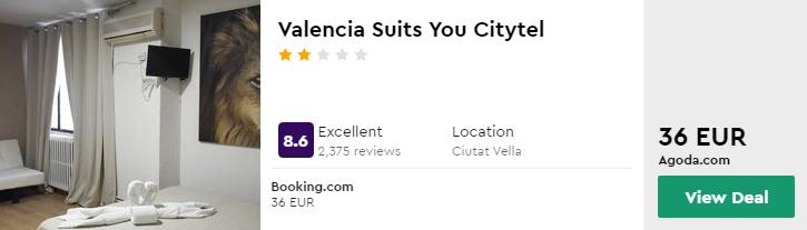 Valencia Suits You Citytel