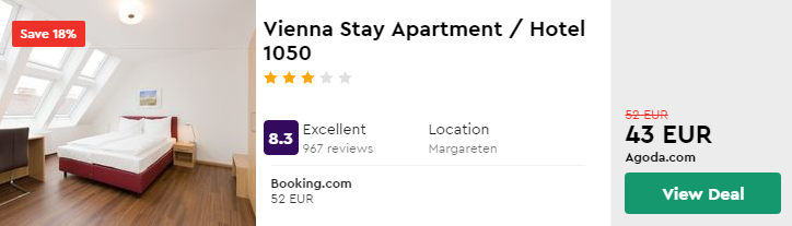Vienna Stay Apartment / Hotel 1050