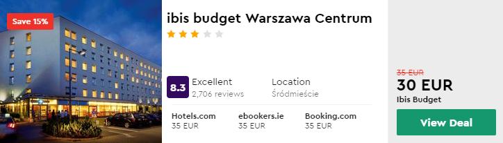 ibis budget Warszawa Centrum