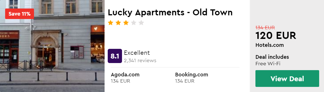 Lucky Apartments - Old Town