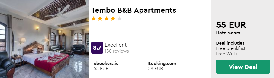 Tembo B&B Apartments