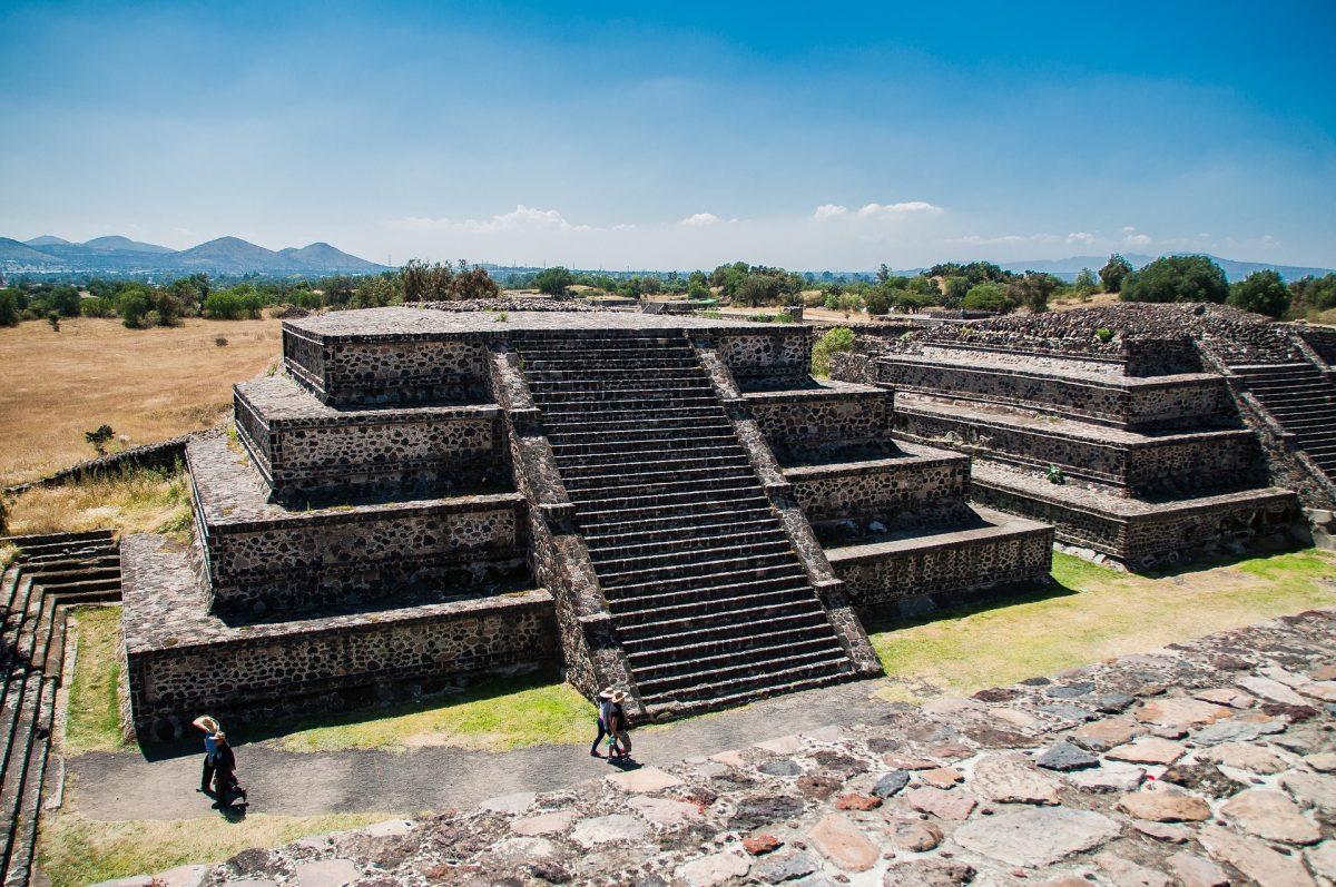 пірамида сонця мехіко