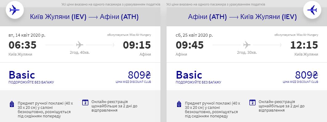 Київ - Афіни - Київ >>