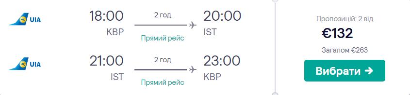 Київ - Стамбул - Київ >>