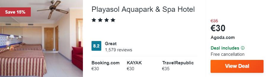 Playasol Aquapark & Spa Hotel