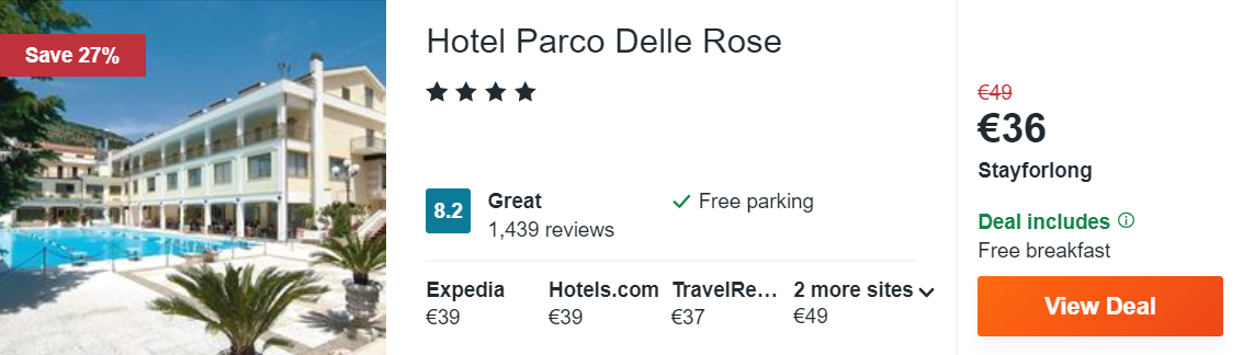 Hotel Parco Delle Rose