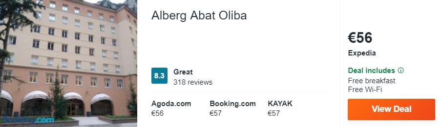 Alberg Abat Oliba