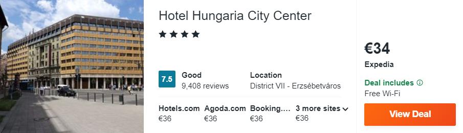 Hotel Hungaria City Center