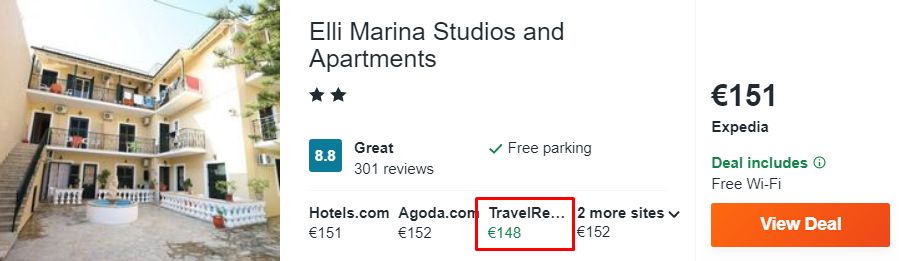Elli Marina Studios and Apartments