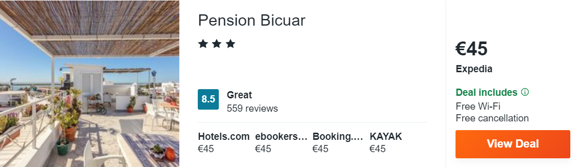 Pension Bicuar