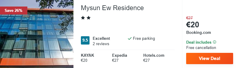 Mysun Ew Residence