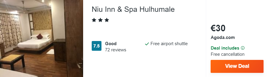 Niu Inn & Spa Hulhumale