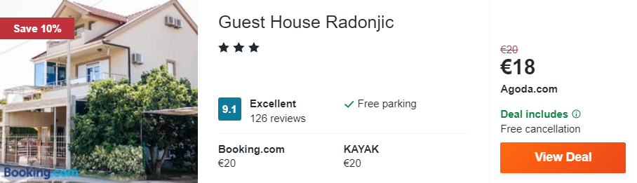 Guest House Radonjic