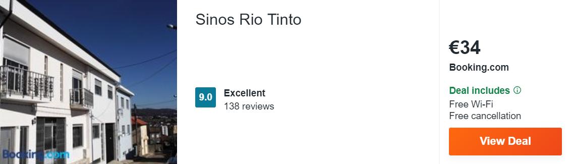 Sinos Rio Tinto
