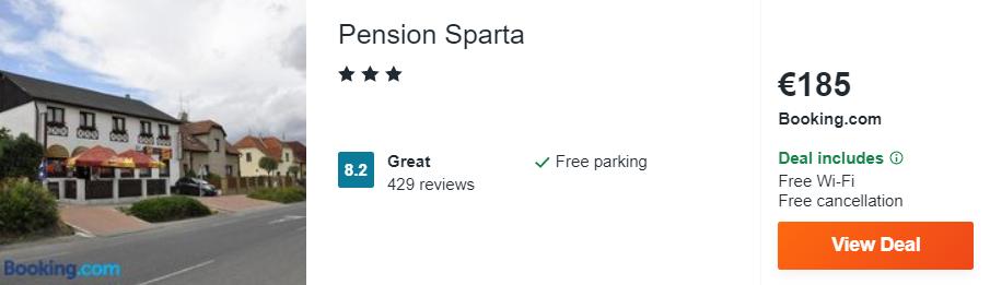 Pension Sparta