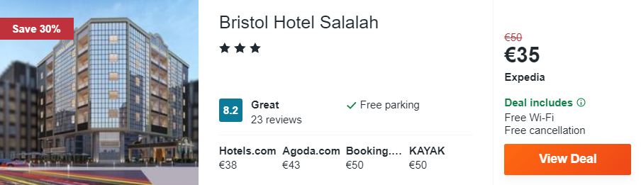 Bristol Hotel Salalah