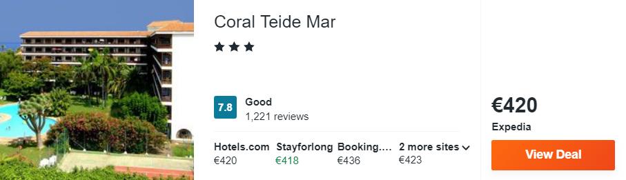 Coral Teide Mar