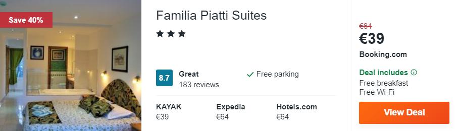 Familia Piatti Suites