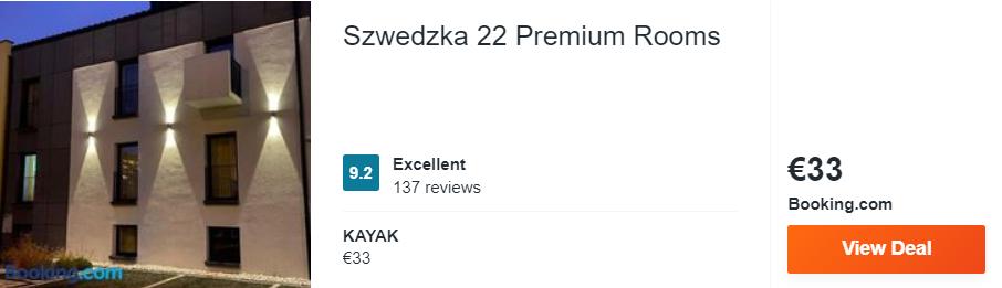 Szwedzka 22 Premium Rooms