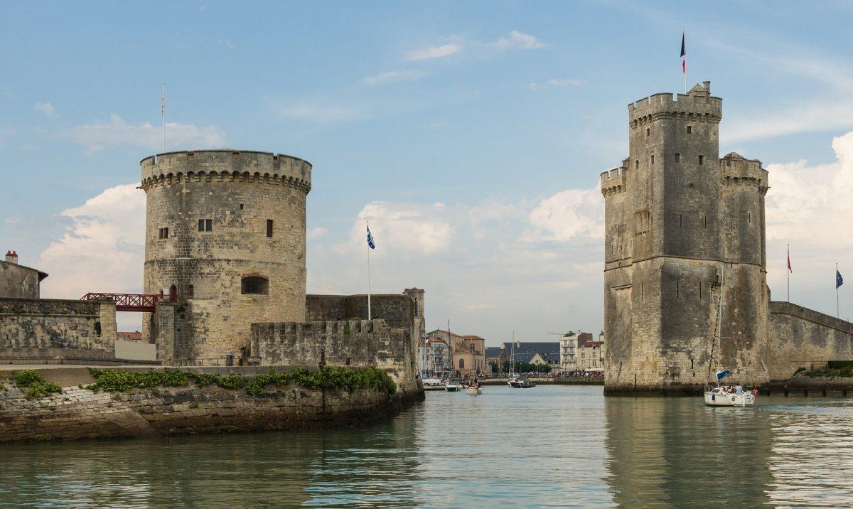 ла рошель старий порт