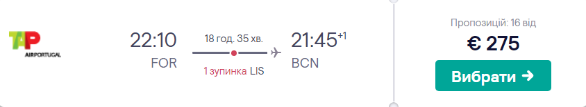 Форталеза - Барселона