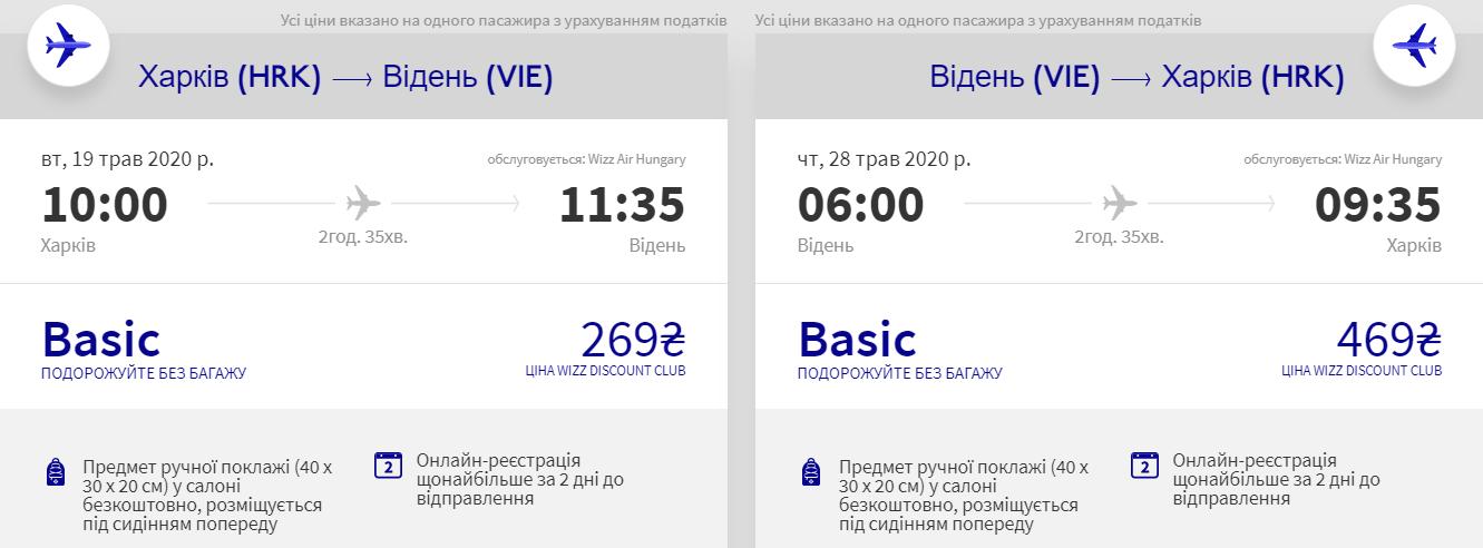 Харків – Відень – Харків >>