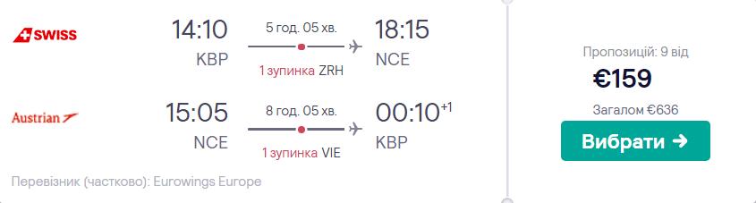 Київ – Ніцца – Київ >>