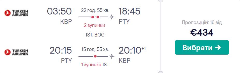 Київ - Панама - Київ