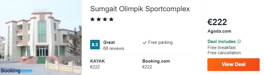 Sumgait Olimpik Sportcomplex