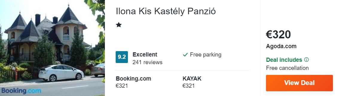 Ilona Kis Kastély Panzió