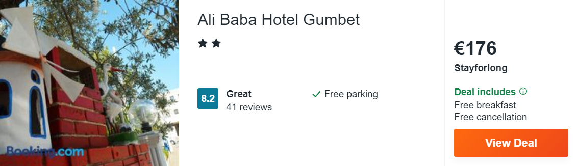 Ali Baba Hotel Gumbet