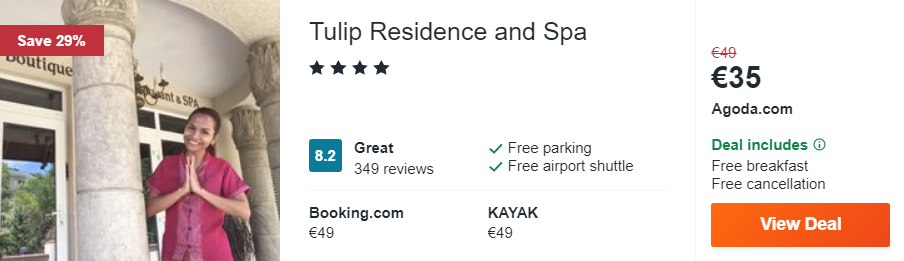 Tulip Residence and Spa
