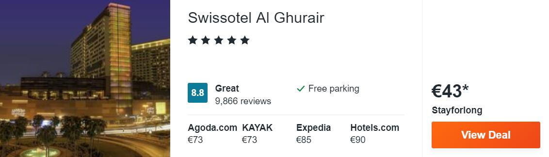 Swissotel Al Ghurair