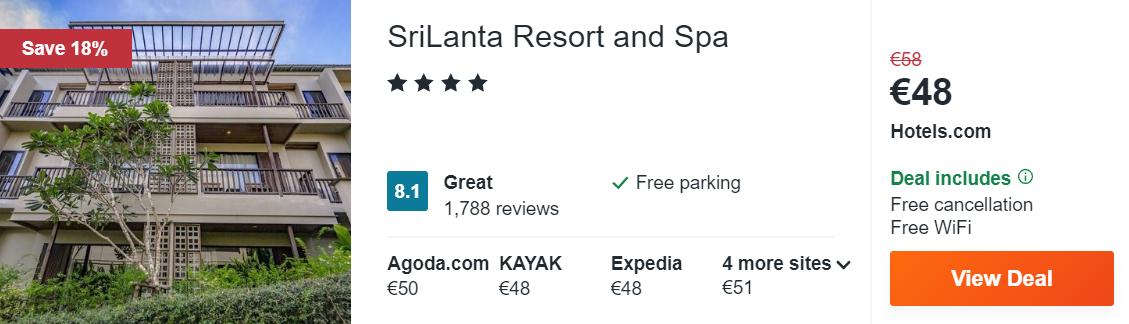 SriLanta Resort and Spa