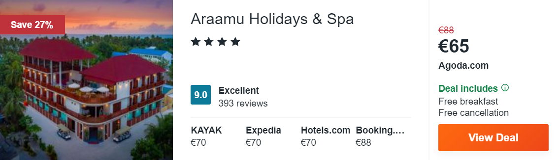 Araamu Holidays & Spa