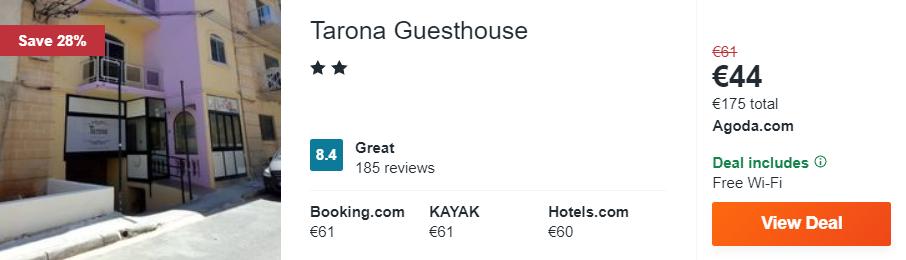 Tarona Guesthouse