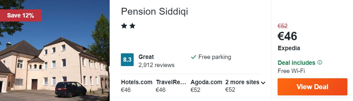 Pension Siddiqi