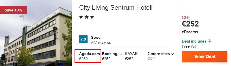City Living Sentrum Hotell