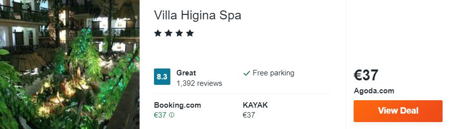 Villa Higina Spa