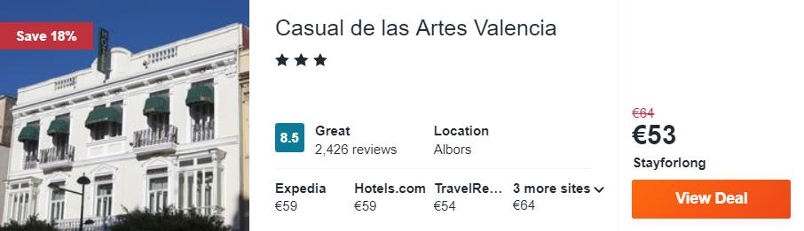 Casual de las Artes Valencia