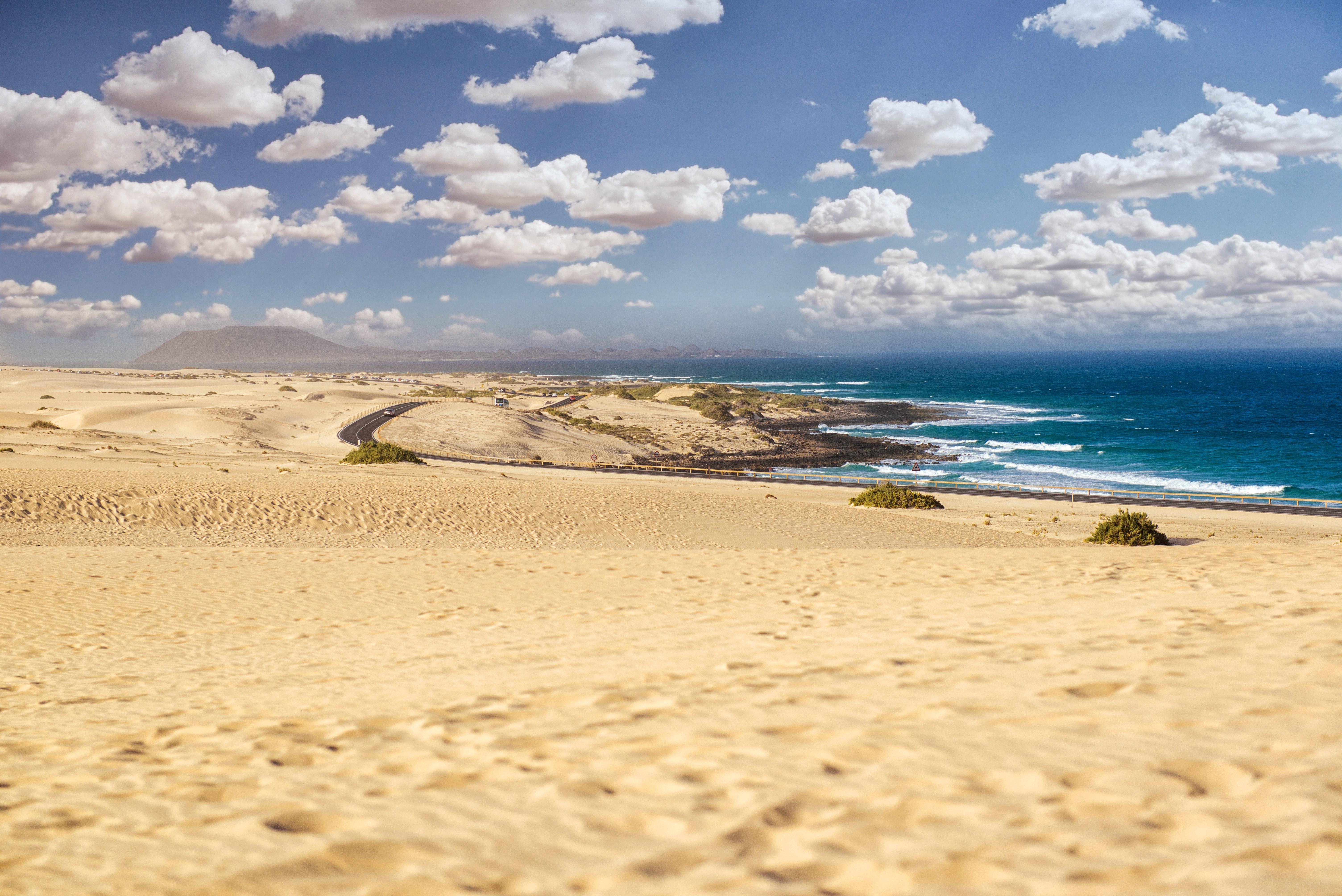 Spain Canaries Fuerteventura Beach