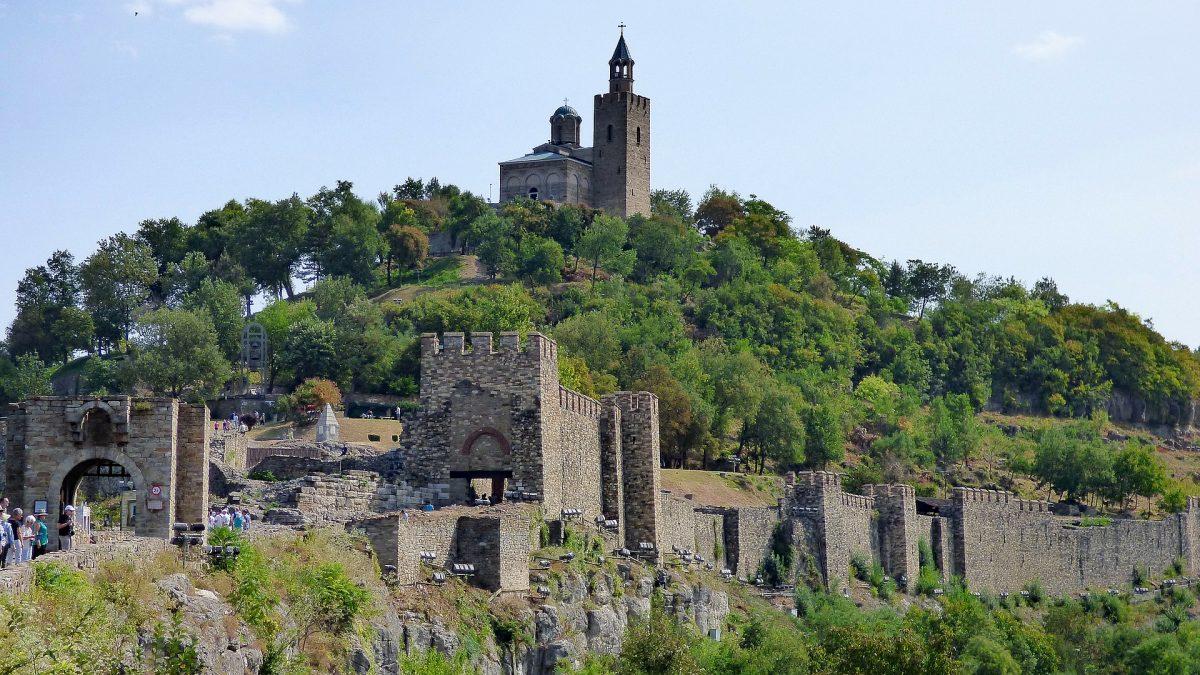 Веліко-Тирново фортеця царевец