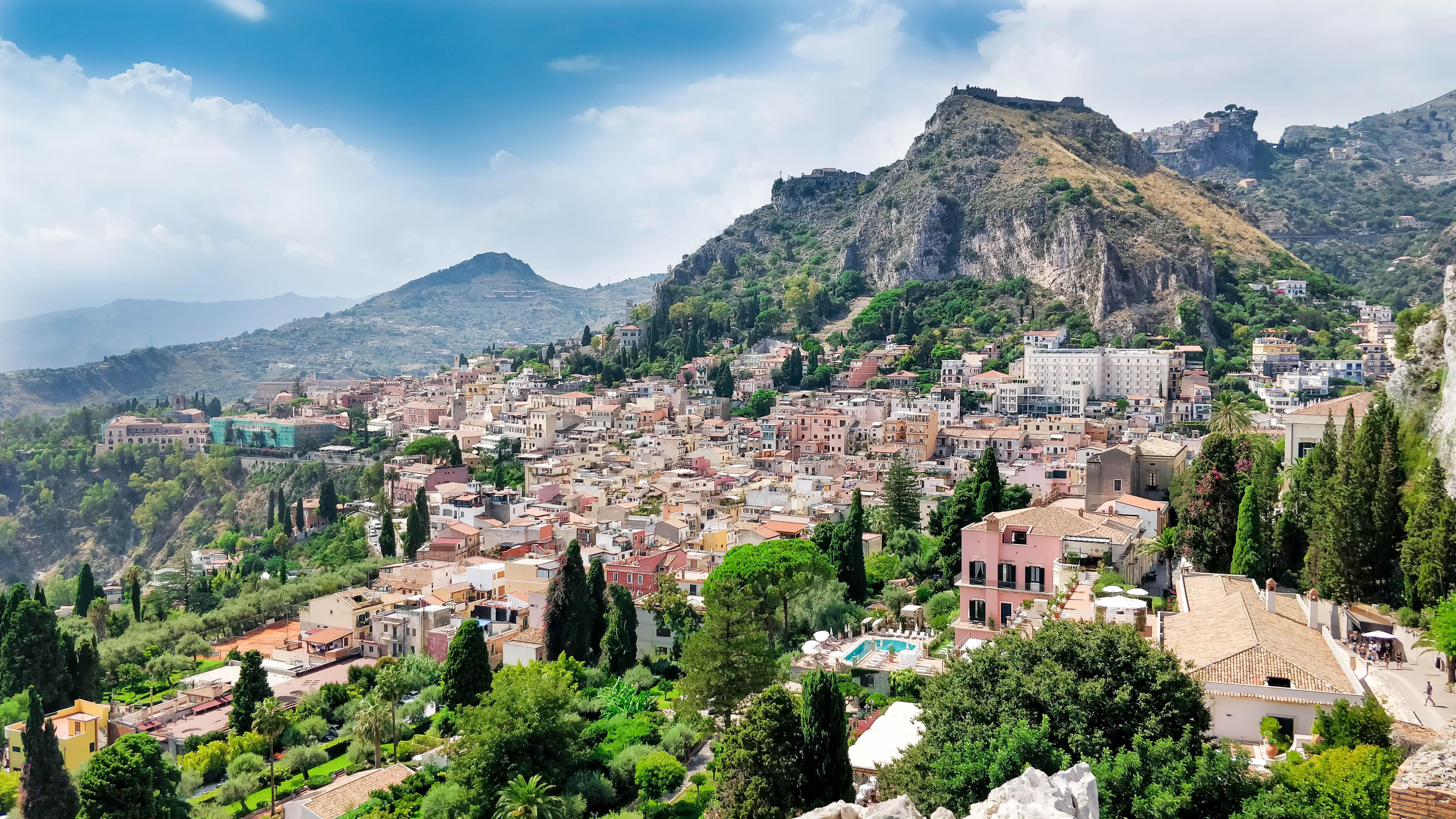 Італія Сицилія Таорміна