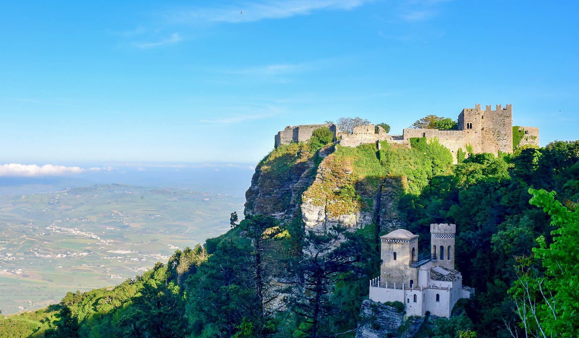 Італія Сицилія Еріче