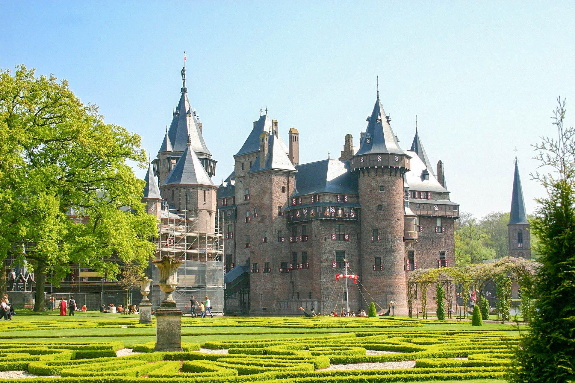 Замок Голландії Де Хаар
